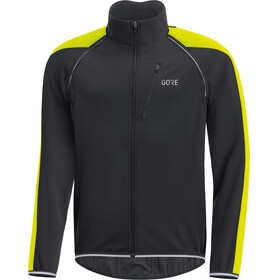 GORE WEAR C3 Windstopper Phantom Zip-Off Jacket Men black/neon yellow
